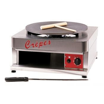 Crepes-Eisen (Gas) 430 x 480 x 270 mm   G400S